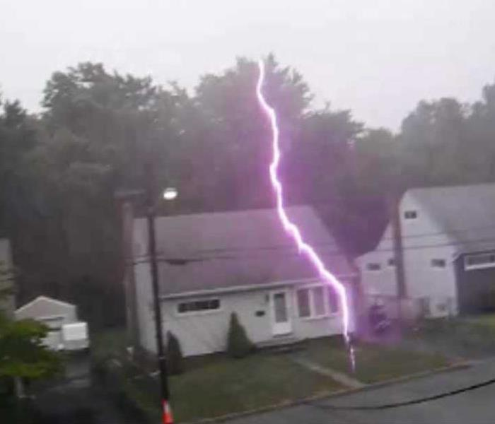 Storm Damage Thunder and Lighting Safety Tips