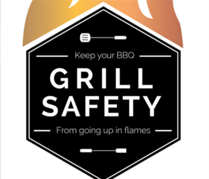 Fire Damage Grilling Safety